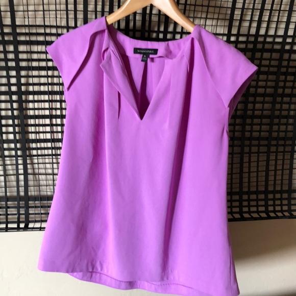 Banana Republic Tops - Banana Republic blouse in pink size M